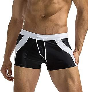 Lazzon Costumi da Bagno Parigamba Boxer da Nuoto per Uomo Mare Piscina Boxershorts Asciugatura Veloce