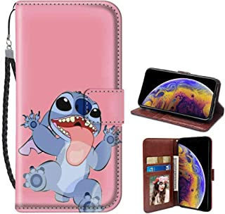 Wallet Case Fit for Apple iPhone Xr (2018) (6.1inch) Disney Wallpaper Lilo Y Stitch Tumblr Cartoon