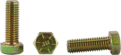 1//2-13 X 1 1//2 Hex Head Bolts Hex Head Cap Screws Grade 8 25pcs, 1//2-13 x 1-1//2 1 To 5 Lengths in Listing