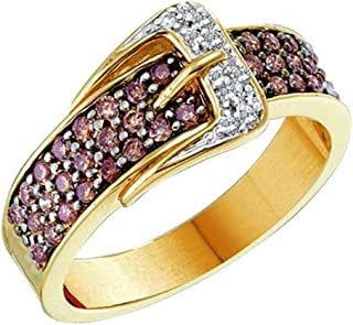 Best chocolate diamond belt buckle ring Reviews