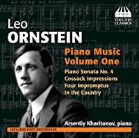 Piano Music 1 by LEO ORNSTEIN (2012-08-30)