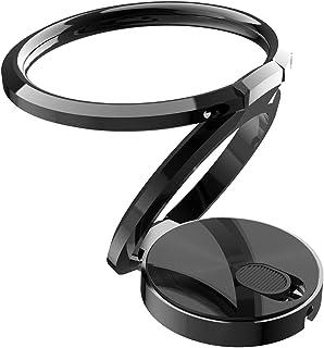 Cofityeah スマホリング 二重 ホールドリング 薄型 携帯 リング リングホルダー スマホホルダー リングホール 車載ホルダー 360回転 落下防止 Iphone/Android