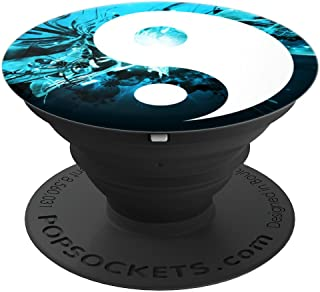 Teal Yin Yang Pop Socket Smartphone Tablet Stand Accessory - PopSockets Grip and Stand for Phones and Tablets