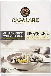 Casalare Casalare Brown Rice Twists Pasta 250 g