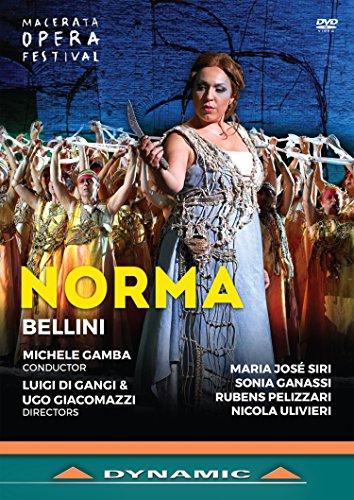 Vincenzo Bellini: Norma (Macerata Opera Festival, 2017) [DVD]
