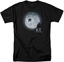E.T. Flying Bicycle Across The Moon T Shirt & Stickers