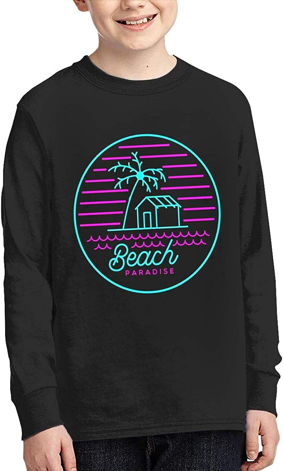Beach Paradise Sweater Fashion and Comfortable Children's Sweater