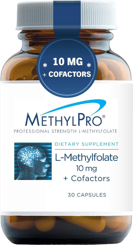 Discount is also underway Washington Mall MethylPro 10mg L-Methylfolate + Cofactors - Profes Capsules 30
