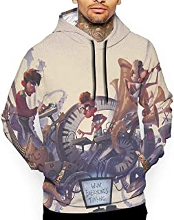 HALAZANA Men's Hoodie Sweatshirt Long Sleeve