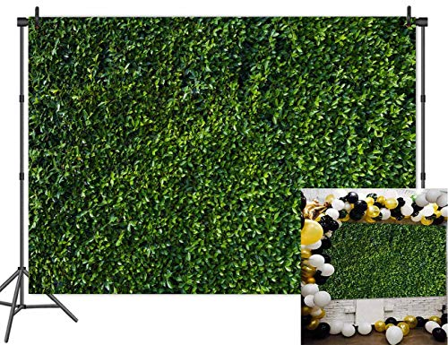 Nature Theme Green Leaves Backdrops Seamless Photography Studio Props Vinyl 7x5ft Backgrounds Party Decoration Lawn Grass Banner