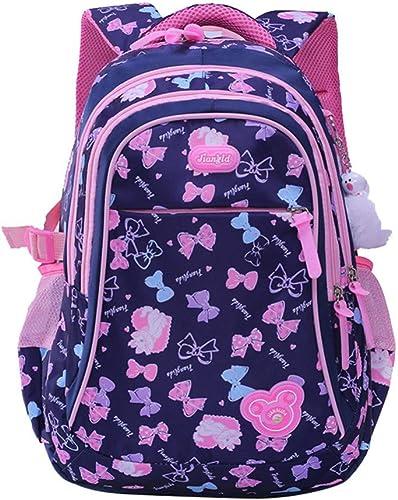 SGLOI Studentenrucksack Neuheiten Kinder Schultaschen Orthop sche Rucksack Cartoon wasserdichte Schultaschen Für mädchen Jungen Größe Kapazit