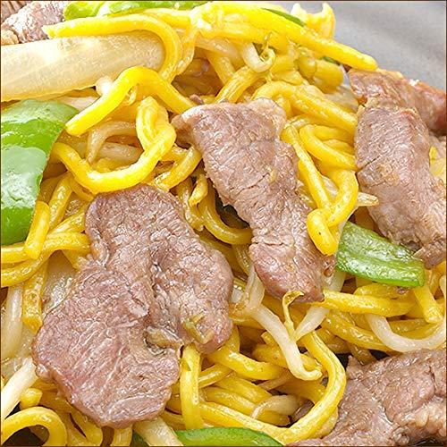 ジンギスカン 焼きそば (3食) & ホルモン 焼きそば (3食) BBQセット 千歳ラム工房 肉の山本 グルメ お取り寄せ