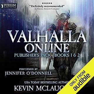 Valhalla Online audiobook cover art