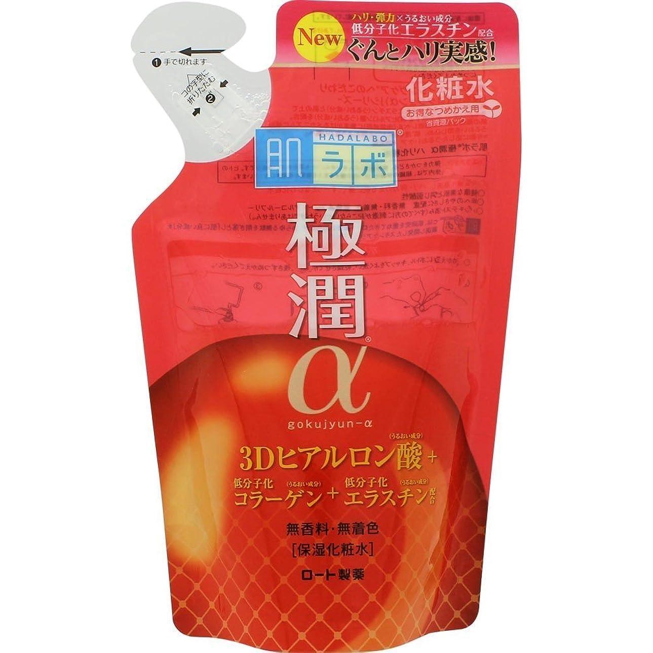 エールミル俳優肌ラボ 極潤α ハリ化粧水 <つめかえ用> 170mL