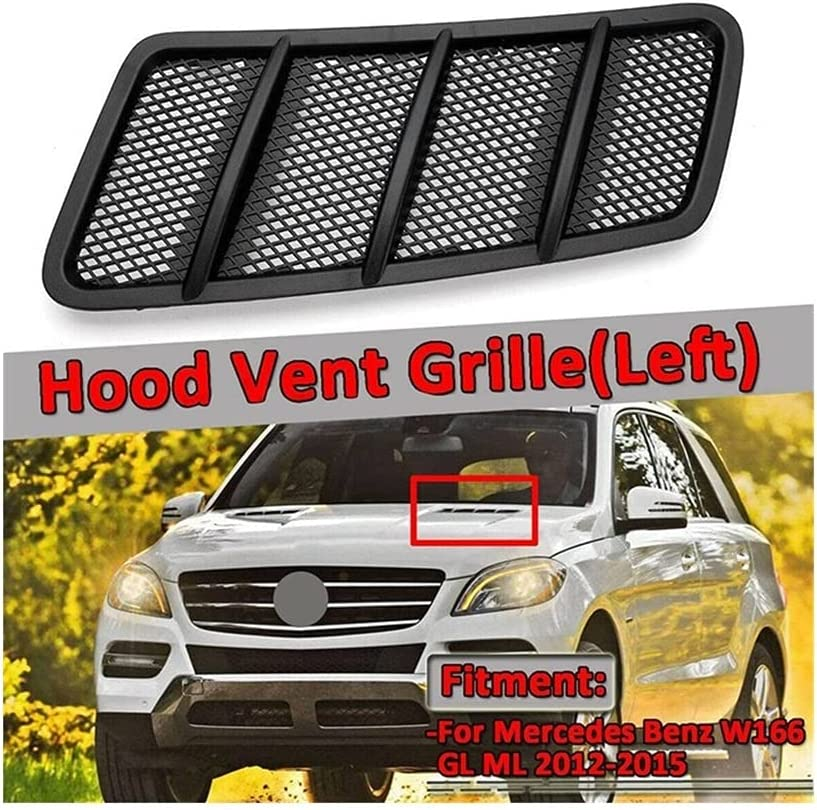 KGASYUI Car Hood Vent Scoop Air Cover Max 54% OFF We OFFer at cheap prices Driver Grille Co