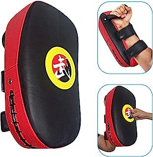 TLBTEK 1Pcs Taekwondo Kick Pad PU Muay Thai Pads MMA Karate Kick Pads Kickboxing Training Pads Martial Arts Punching Pads ...
