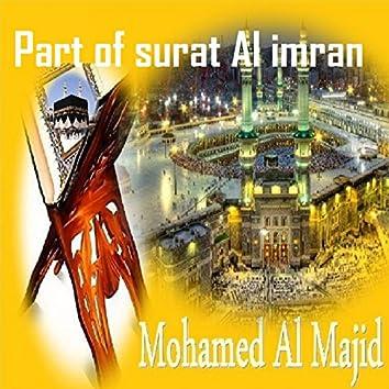 Part of Surat Al Imran (Quran)