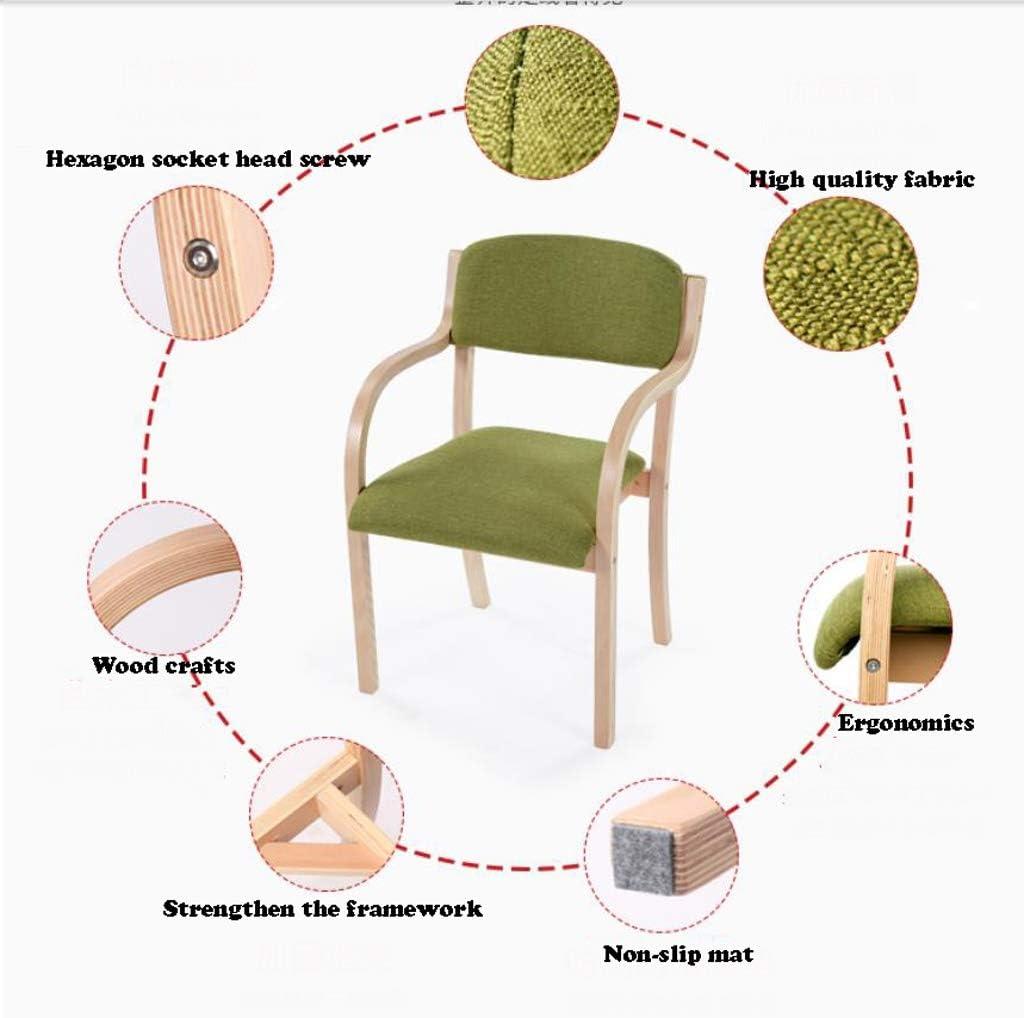 GYJ Simple Chaise Bureau étudiant et Chaise de Maquillage Tabouret Retour à la Maison à Manger Chaise d'ordinateur Unique (Color : L) C
