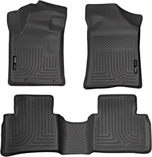 Husky Liners Fits 2013-18 Nissan Altima - Built November 2012 or Newer Weatherbeater Front & 2nd Seat Floor Mats,Black,99641