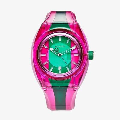 Gucci Gucci XXL Sync YA137115 (Pink/Green) Watches