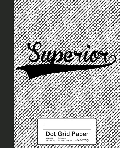 Dot Grid Paper: SUPERIOR Notebook (Weezag Wine Review Paper Notebook, Band 3970)