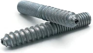 Zinc Plated Steel Hanger Bolts 3/8