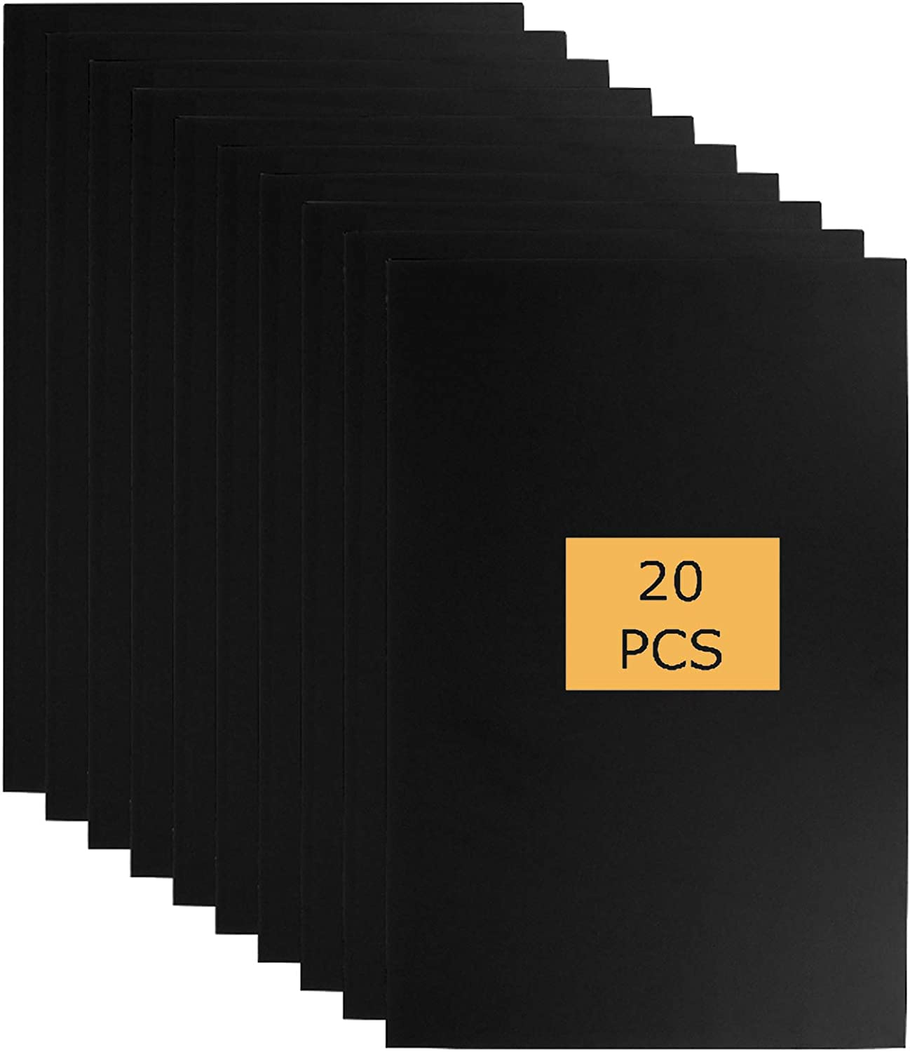 New popularity Abuff A3 Foam Boards Genuine Free Shipping 5 20 mm Black Sheets Thick