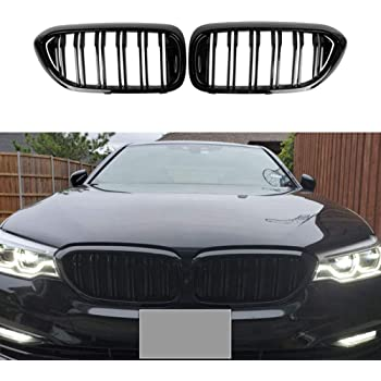 Semoic Car Front Bumper Intake Net Grille Grill For 5 Series M5 G30 G31 520I 530I 540I