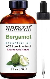 Sponsored Ad - Majestic Pure Bergamot Essential Oil - 100% Pure and Natural, Therapeutic Grade Bergamot Oil, 1 fl. oz