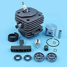 Corolado Spare Parts, 47mm Cylinder Piston Kit for Jonsered 2156 2159 Cs2156 Cs 2156 Epa Cs2159 Cs 2159 Epa Chainsaw Ball Bearing Gasket Set