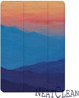 NeatClean ipad air3 ケース ペンシル収納 軽量 薄型 ipad pro11 ケース pencil 収納 iPad 第六世代 9.7インチ ケース 2018 iPad 第五世代 9.7 ケース 2017 ipad air10.5 ケース ipad Air3ケース Air2ケース Airケース 手帳型 iPad mini5 ケース mini4ケース mini3ケース mini2ケース miniケース アイパッドカバー ipad 9.7 ケース ペンシル ipad pro10.5 ケース おしゃれ ipad 第5/6世代 9.7インチ 耐衝撃 二つ折り スタント ペン収納 アイパッドケース 背面透明 三つ折り 魅力的 おもしろ オシャレ カラフル 水彩画 芸術 高級感(iPad mini5,b柄)