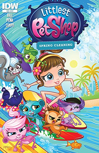 Littlest Pet Shop: Spring Cleaning! (English Edition)