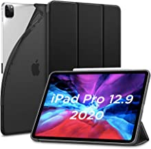 ESR for iPad Pro 12.9 Case 2020 & 2018, Rebound Slim Smart Case with Auto Sleep/Wake [Viewing/Typing Stand Mode] Flexible TPU Back with Rubberized Cover for 12.9‑inch iPad Pro - Black