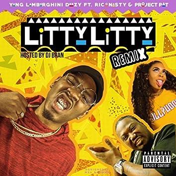 Litty Litty (Remix) [feat. Rico Nasty, Project Pat & DJ Bran]