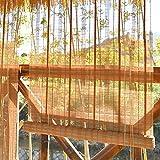 ZXL Außenrollo, Bambusrollo für Außenterrasse Veranda Pergola Balkon, UV-Schutz, (Size : 80cm×160cm)