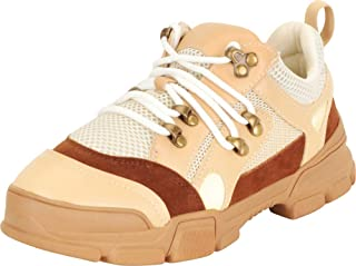 Cambridge Select Women's Retro 90s Ugly Dad Hiking Lace-Up Chunky Platform Fashion Sneaker