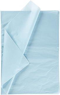 Creavvee Découpage papier de Soie 28 feuilles format 50 x 70 cm Bleu Clair F7170