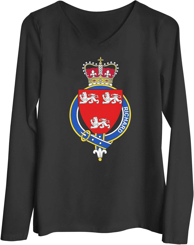 HARD EDGE DESIGN Women's Welsh Garter Family Richard T-Shirt