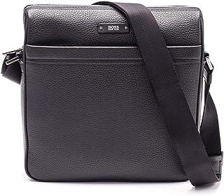 Hugo Boss Men's 50311776001 Black Leather Briefcase