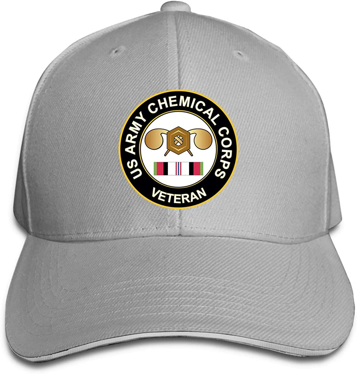 Army Chemical Corps Afghanistan Adjustable Sandwich Cap Baseball Cap Casquette Hat