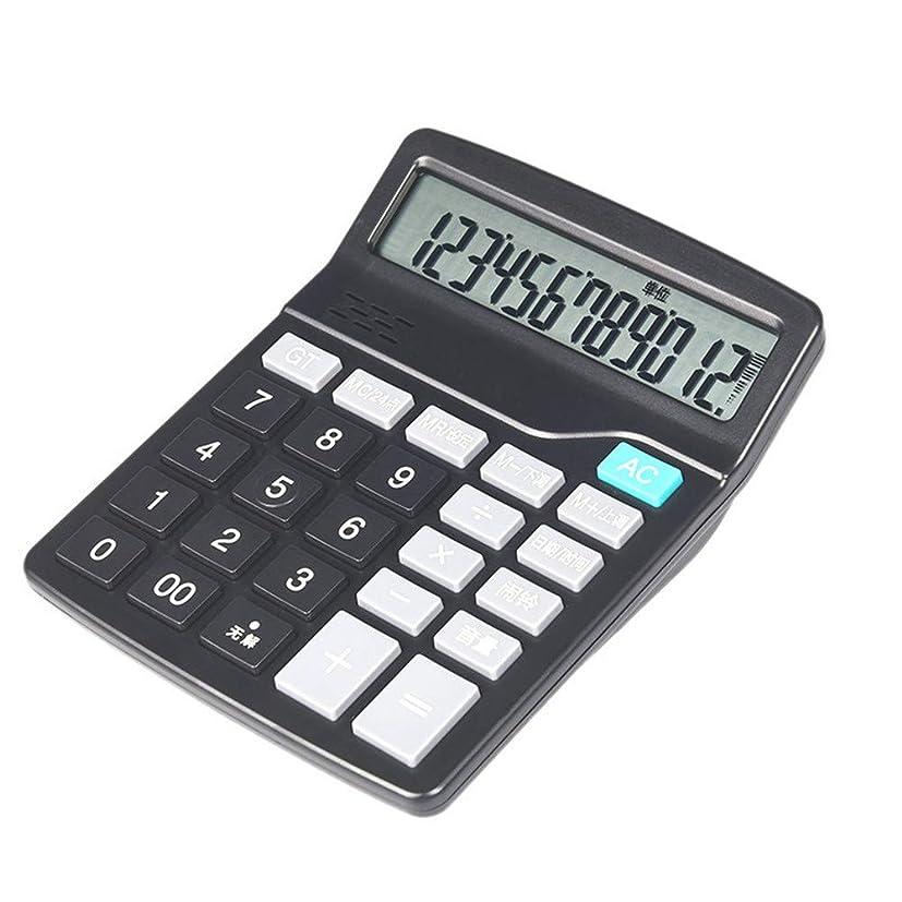 剛性空気保存する電卓 電卓、デュアル電源標準機能デスクトップ電卓オフィスおよびビジネス用 ビジネス電卓