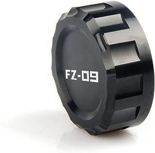 Cylinder Reservoir Cover Rear Brake Fluid Reservoir Cap Cover For YAMAHA FZ09 FZ-09 FZ 09 TRACER 2014 2015 2016 2017(BLACK)
