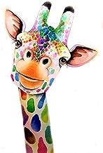 5D Kit de pintura de diamante jirafa DIY,DIY pintura al oleo por numeros Rhinestone bordado punto de cruz artes manualidades para decoración de la pared del hogar 30x40 cm