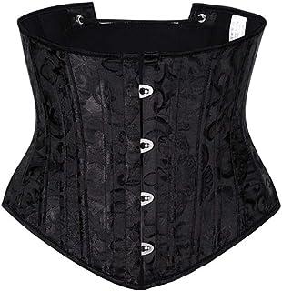 Women Waist Trainer Overbust Corset Lace-up Cinch Belt Waist Cincher Shaper, Improve Back Posture Tummy Control Shapewear ...