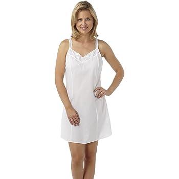 Womens/Ladies White Underwear Camisole