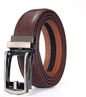 026fb5f38 Elibone Men belt genuine leather belt male casual belt jeans chain belts  Automatic Buckle wide