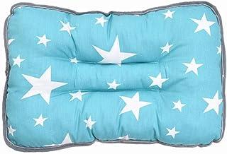 YQ&TL Almohada de algodón para niños Almohada para bebé Kindergarten Almohada de Siesta (1-6 años de Edad) Espalda estándar Amamantamiento Cojines para bebés Soother Soothers, D +