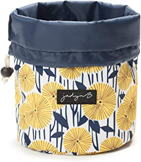 Jadyn B Cinch Top Compact Travel Makeup Bag and Cosmetic Organizer for Women