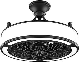 Anderson 22 in. Indoor/Outdoor Black Ceiling Fan