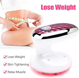 Weight Loss Machine Red Light Rechargeable 3 in 1 Body Sliming Machine for Skin Firming, Improve Blood Circulation, Fat Reduction on Waist Arm Leg and Hip